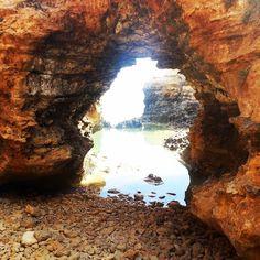 The Great ocean road part II -Grotto  #Australia #Victoria #greatoceanroad #12apostles #cliff #sea #seaside #coast #ocean #roadtrip #daytrip #drive #visitaustralia #visitvictoria #travel #travellife #traveller #sightseeing #waves #blueocean #summer #summerday #aussiesummer #filter #lowfi #travelgram #grotto #cave by slimpt http://ift.tt/1ijk11S