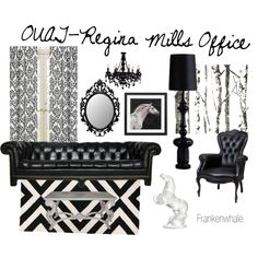 OUAT-Regina Mills Office