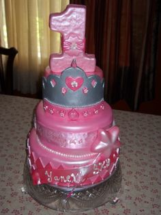 princess cake By PerlasBakery on CakeCentral.com