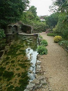 Wishing Well Gardens Upwey Dorset England by Cornishcarolin , via Flickr
