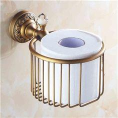 Toilettenpapierhalter Antik Messing Bad-Accessoires