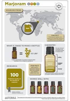 Marjoram targets tired and achy muscles, is calming, flavor enhancer in your favorite recipe and supports the nervous system. Doterra Lemongrass, Marjoram Essential Oil, Lemongrass Oil, Lemongrass Essential Oil, Doterra Essential Oils, Doterra Lemon Oil, Ingesting Essential Oils, What Are Essential Oils, Aromatherapy