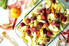 Schnelle Küche - Apfel-Rhabarber-Erdbeer-Kompott! Ein TCM Rezept zum Genießen und Entspannen!