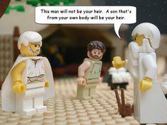 Lego illustrated bible