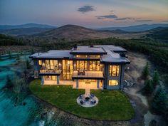 Colorado Mountain Homes, Colorado Mountains, Luxury Homes Dream Houses, Dream Homes, Building Ideas, Building A House, House Outside Design, Modern Farmhouse Design, Plans