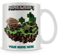 MUG MINECRAFT personalised World of Minecraft by Technoflakes 2915dc6a3c2