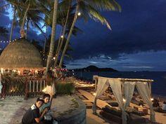 Sunset at Fisherman's Village, Bophut, Koh Samui