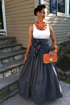 Stylish Trumpet Skirt Outfits For Formal Moments African Attire, African Dress, Modest Fashion, Fashion Outfits, Womens Fashion, Fashion Blogs, Fashion Styles, African Women, African Fashion