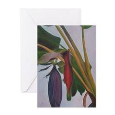 Banana Inflorescense 2 Greeting Cards