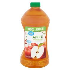 (2 pack) Great Value 100% Juice, Apple, 96 Fl Oz - Walmart.com