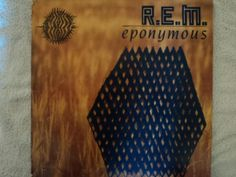 REM-Eponymous, £8.00 by Vinyl Discord:  Format; LP Condition; Very Good Year; 1988 Label; I.R.S. Records Cat.No; MIRG 1038  There is some slight scuffing on the spine but the record is otherwise very good condition..