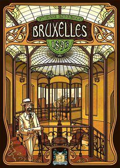 Brussels - Art Nouveau poster.