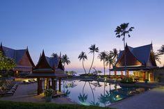 Chiva Som Luxus Detox Center Hua Hin - Das Luxus-Detox-Retreat des Chiva-Som Health Resort befindet sich am Meer in Hua Hin, Thailand. Adult Only All Inclusive, Best All Inclusive Resorts, Hotels And Resorts, Luxury Resorts, Luxury Spa, Top Hotels, Bangkok, Thailand Retreat, Phuket Thailand