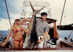Hugh Hefner In Miami 1970