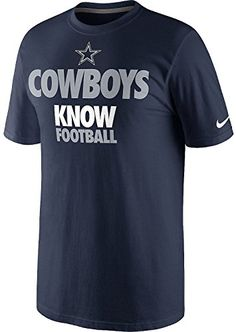 Dallas Cowboys Know Football NFL NWT t-shirt new with tags in sealed  packaging bfe5964d9