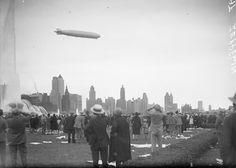 Aug. 28, 1929: Zeppelin over Chicago