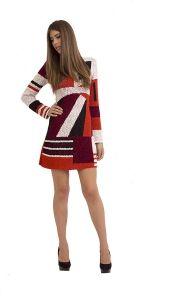 5194 #geometric dress #fashion