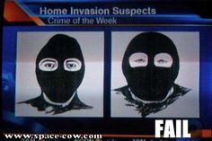 Friday Funny: Sketches of Suspects... Fail. LOL (The one on the right looks vaguely familiar.)