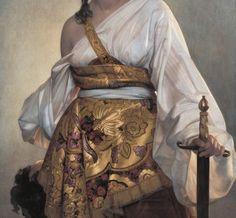 August Riedel, Judith (1840) (detail)