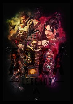 Apex Legends by AmbientFlush on DeviantArt Crypto Apex Legends, Cool Anime Pictures, Anime Backgrounds Wallpapers, Wallpaper Wallpapers, Sword Art Online Wallpaper, Legend Games, The Legend Of Heroes, Fanart, Mobile Legend Wallpaper