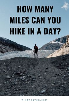 How many miles can you hike in a day? The average hiker on mild terrain can hike around miles km) in an 8 hours hiking day. Hiking Tips, Hiking Gear, Hiking Backpack, World Travel Guide, Travel Tips, Hiking Essentials, Appalachian Trail, Best Hikes, Day Hike