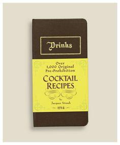 Pre-prohibition cocktails