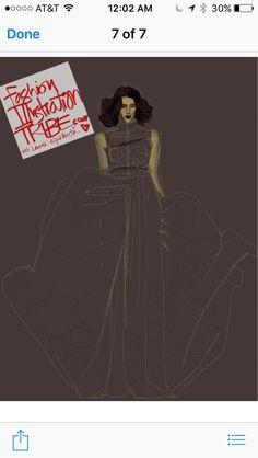 By Laura Volpintesta Digital Fashion Illustration