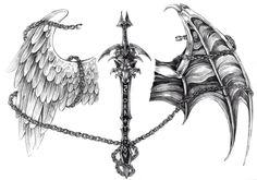 sword_wolf_tattoo_by_nalavara.jpg piksel - sword_wolf_tattoo_by_nalavara.jpg piksel Informations About sword_wolf_tattoo_by_nalavara - Wolf Tattoos, Back Tattoos, Arm Tattoos For Guys, Couple Tattoos, Trendy Tattoos, Body Art Tattoos, New Tattoos, Sleeve Tattoos, Evil Tattoos