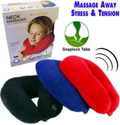 NEW - NECK PILLOW/MASSAGER - BYGL-200 Listing in the Massage,Health & Beauty Category on eBid United…