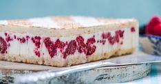 Letný tvarohový koláč s malinami - dôkladná príprava krok za krokom. Recept patrí medzi tie najobľúbenejšie. Celý postup nájdete na online kuchárke RECEPTY.sk. Cheesecakes, Vanilla Cake, Tiramisu, Food And Drink, Cookies, Ethnic Recipes, Basket, Crack Crackers, Biscuits