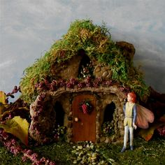The Vineyard Fairy Garden House by enchantedgardens on Etsy
