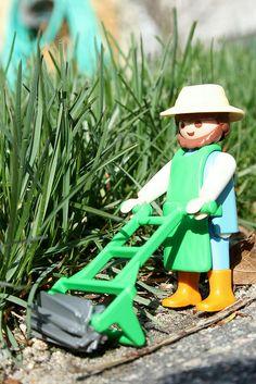 Playmobil gardener