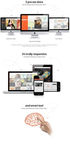 WowWay is an incredibly unique and highly interactive WordPress theme for creative portfolios. Based on a responsive grid, packed up with lots of cool features and built on a powerful admin panel, this can become the perfect theme for you!