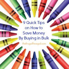 9 Quick Tips on How to Save Money By Buying in Bulk