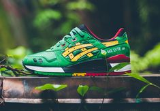 "Asics Gel Lyte III ""Rasta"" Pack - SneakerNews.com"