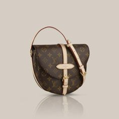 Chantilly GM Monogram Canvas In classic Monogram canvas, and with a chic cross-body strap, the Chantilly GM blends timeless Louis Vuitton elegance with everyday city style. Cowhide leather trimmings complete its understated look.