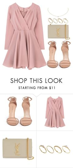 """Sin título #12285"" by vany-alvarado ❤ liked on Polyvore featuring Stuart Weitzman, Yves Saint Laurent, ASOS and Cartier"