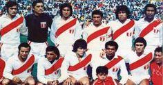 La Selección Peruana ganó dirigida por Marcos Calderón. Hace 39 años Perú ganó la copa Merica. Octubre 28, 2014.