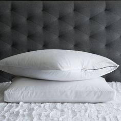 Ultra-Fresh Pillow Protectors #westelm- buy 8 total traditional pillow protectors, size Standard