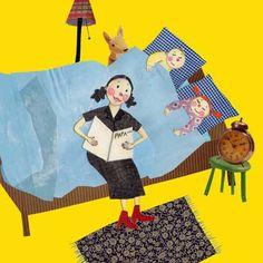 """Emilio Sánchez Miguel. """"¿Por qué hay que leer con los hijos y qué puede hacerse?"""". Podemos leer el artículo digital pinchando sobre la imagen (il. de Antje Damm)"""