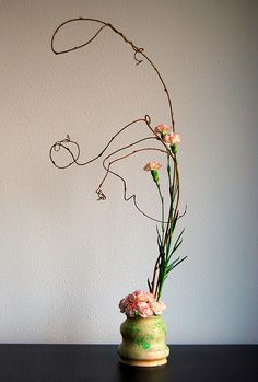 Ikebana 'On the way to the top' by Otomodachi