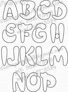 Stencil Lettering, Graffiti Lettering Fonts, Creative Lettering, Types Of Lettering, Lettering Styles, Block Lettering, Love Coloring Pages, Coloring Books, Bubble Letters