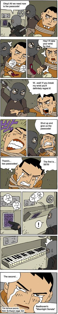 Korean Comic: Passcode