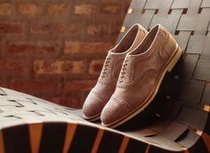 Allen Edmonds brogue shoes