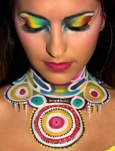 jinny houle | Free & Live Bodypainting Class with Jinny Makeup Artiste - Faba Blog ...