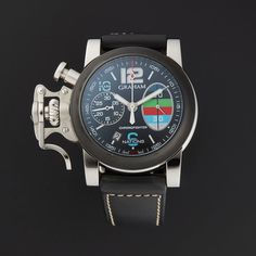 Graham Chronofighter R.A.C 6 Nations Celebration Automatic // 2CRBV.B09A.L96S // Store Display