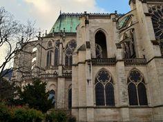 Abbaye de Saint-Denis (begun 1130),  1 Rue de la Légion d'Honneur, 93200 Saint-Denis, Île-de-France.