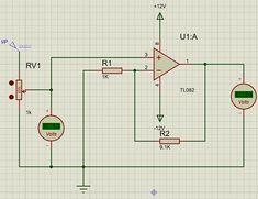 TL082 Op Amp Circuit Diagram Circuit Diagram, Circuits, Amp