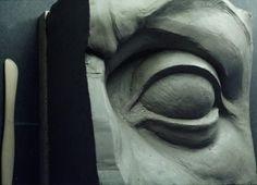 dit is de oog die ik heb geprobeerd na te maken voor mijn masker
