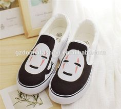 Low Spirited Away Anime Without Face The New Leisure Man BangTao Foot Canvas Shoes, View Canvas shoe, donnatoyfirm Product Details from Guangzhou Donna Fashion Accessory Co., Ltd. on Alibaba.com
